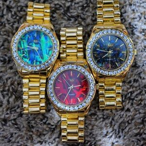 Other - SALE!! Get 3 Iced Out Watch for low price